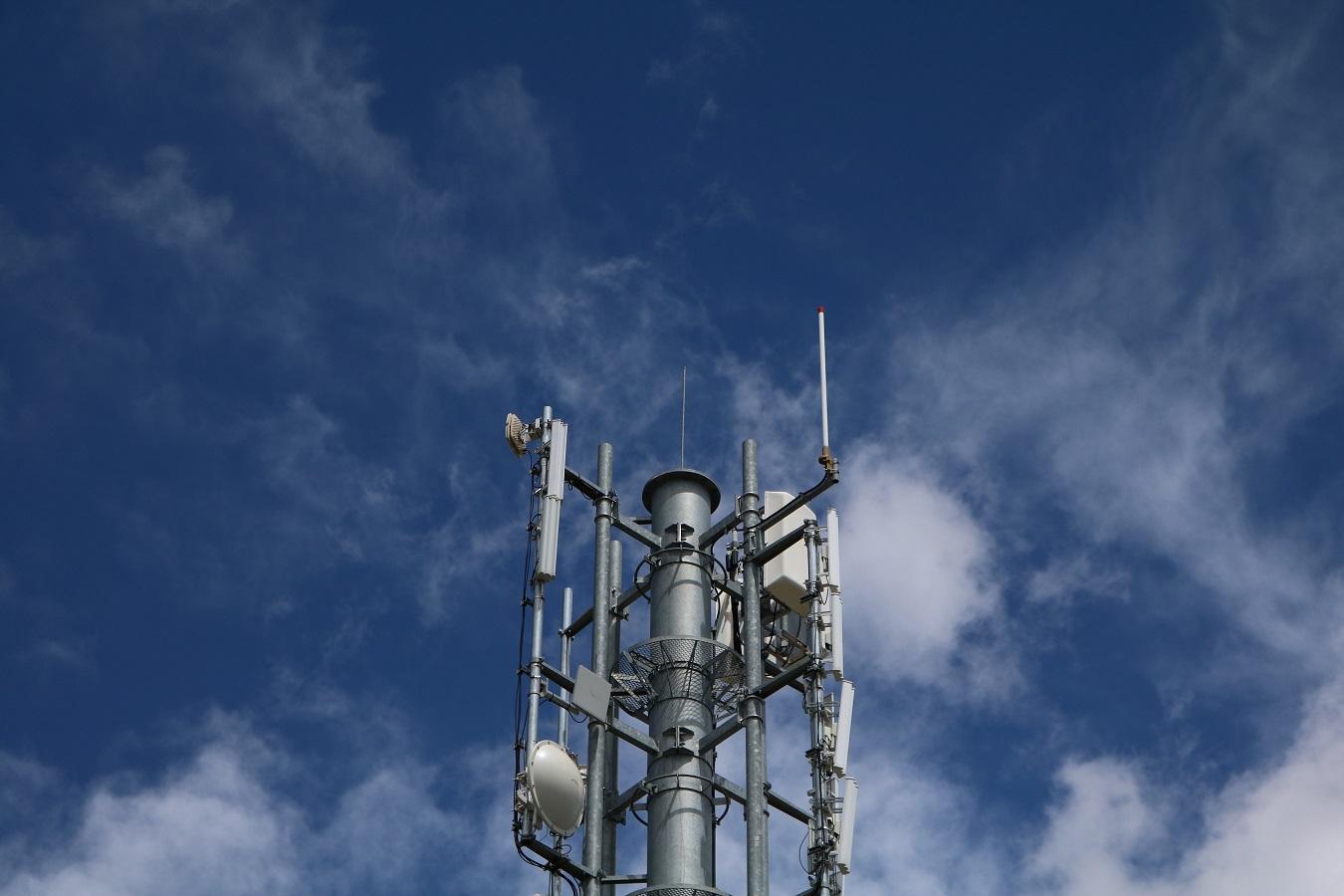 DVB-T Sender Gerlitzen über Villach - Mast