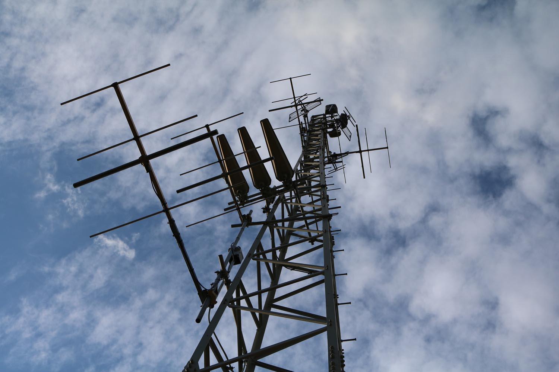Radiosender Verditz bei Treffen - Antennen