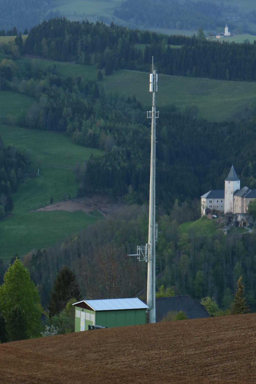 DVB-T Sender Strassburg in Kärnten - Mast