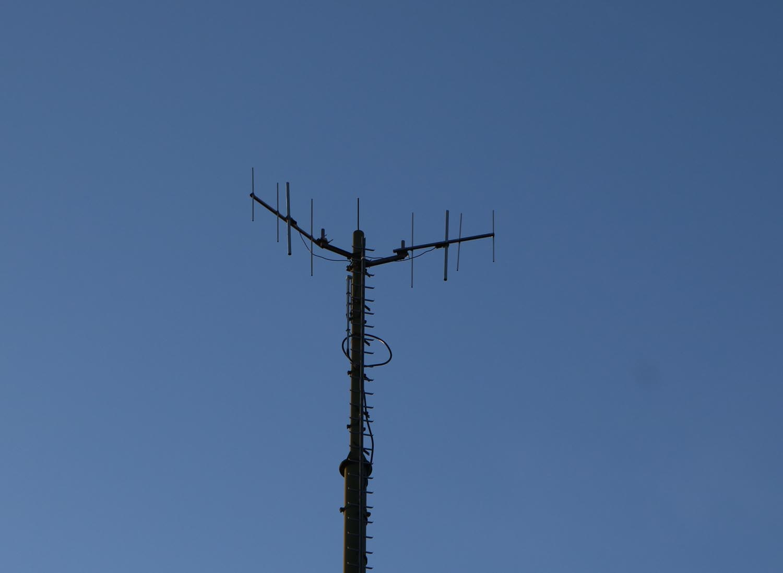 Sender Oswaldiberg Villach - Antennen