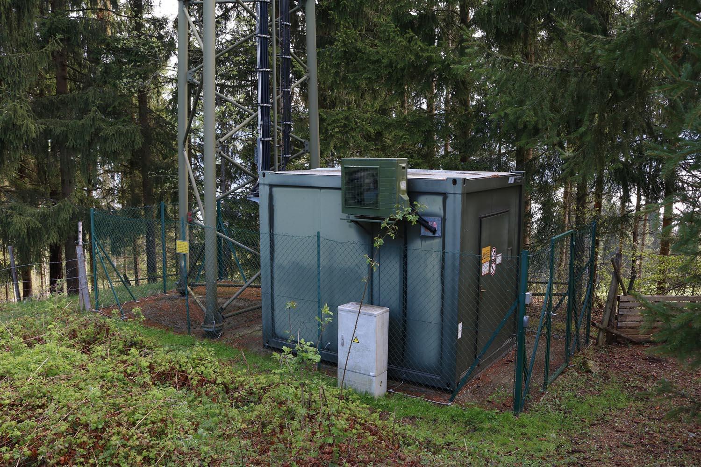 DVB-T und Radio Sender Brückel Lippekogel - BTS
