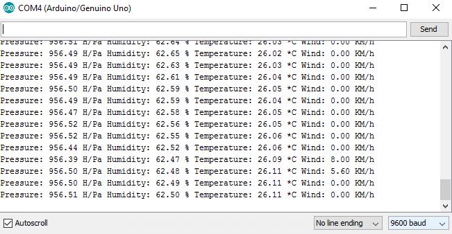 Arduino Wetterstation - Hardwarecheck