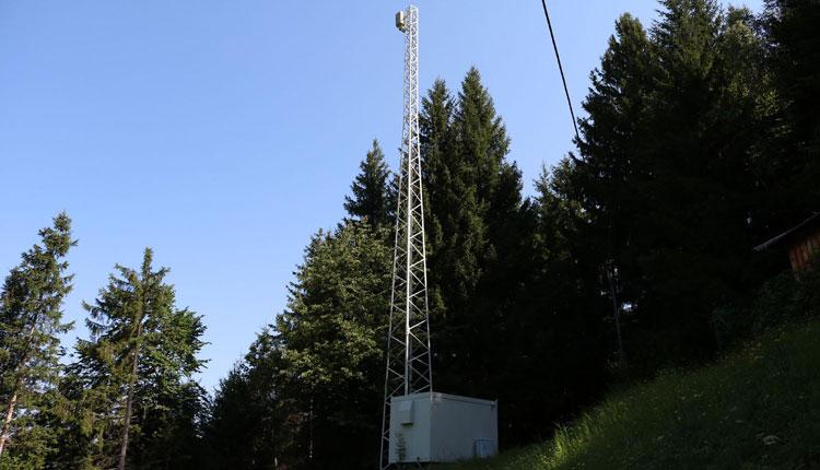 Analog-TV Sender Siflitzberg - Kleblach Lind