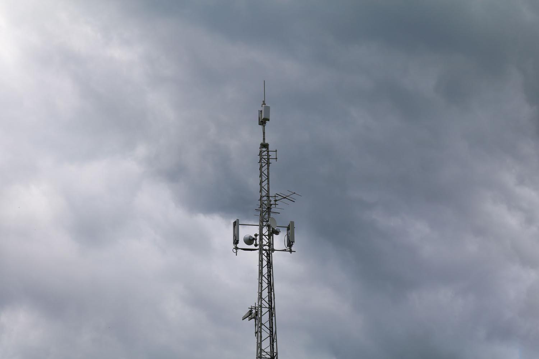 DVB-T und Radio Sender Stall im Mölltal - Antennen