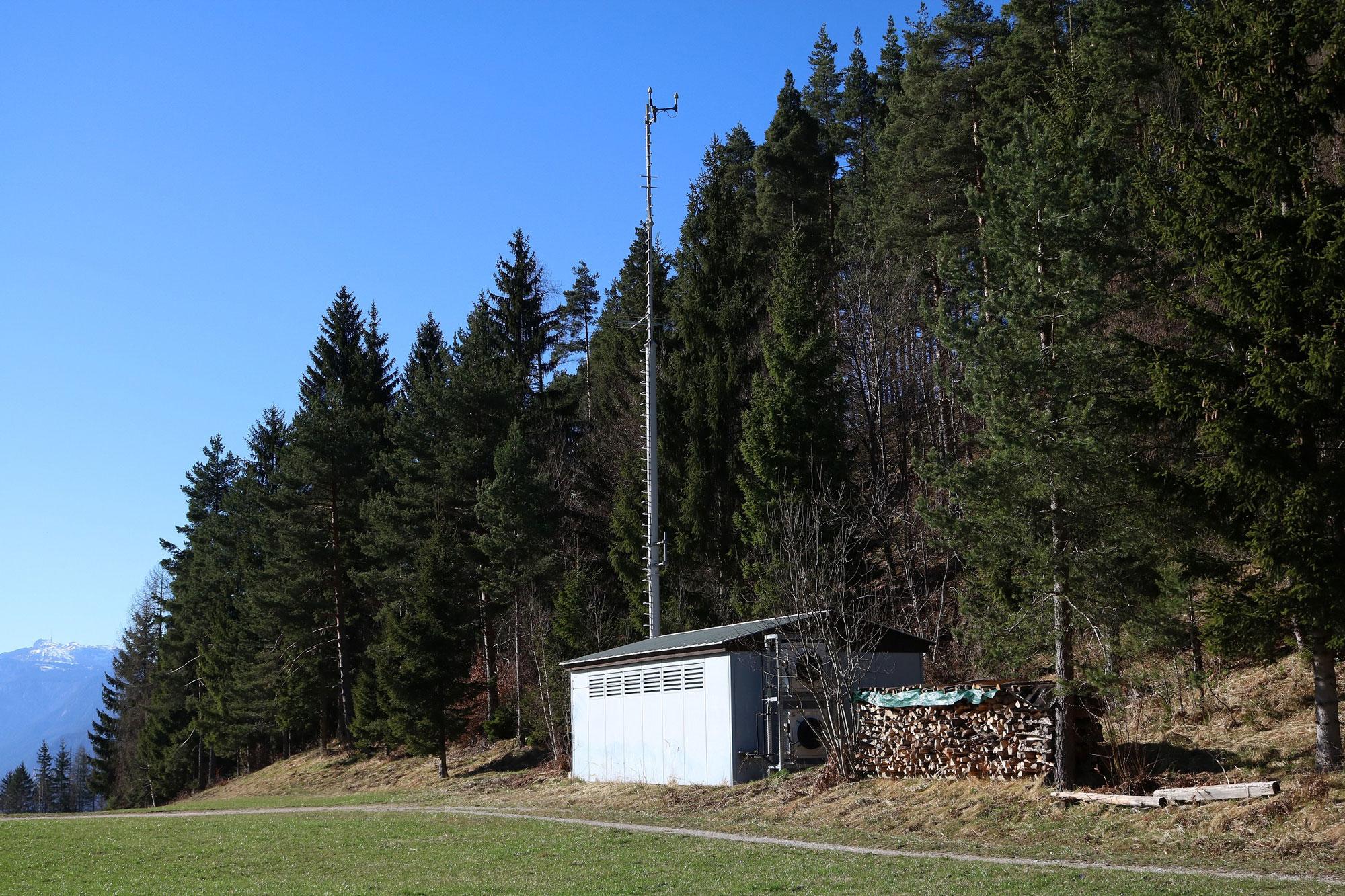 Sender Finkenstein - Sendehaus