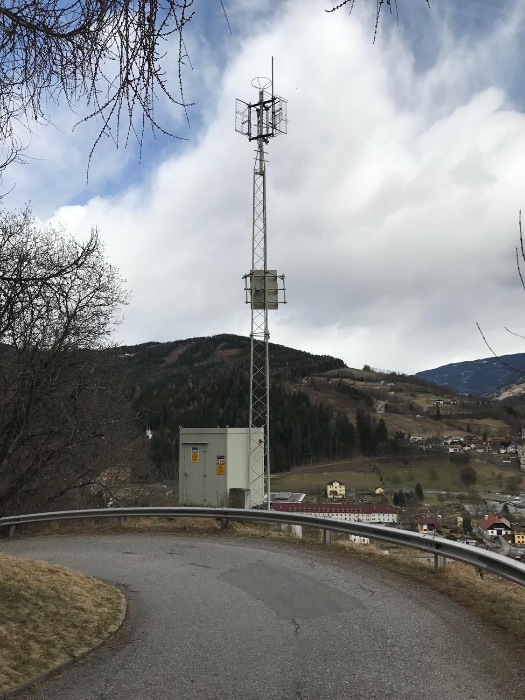 Analog-TV Sender Gmünd 2 - Kärnten - Hinten