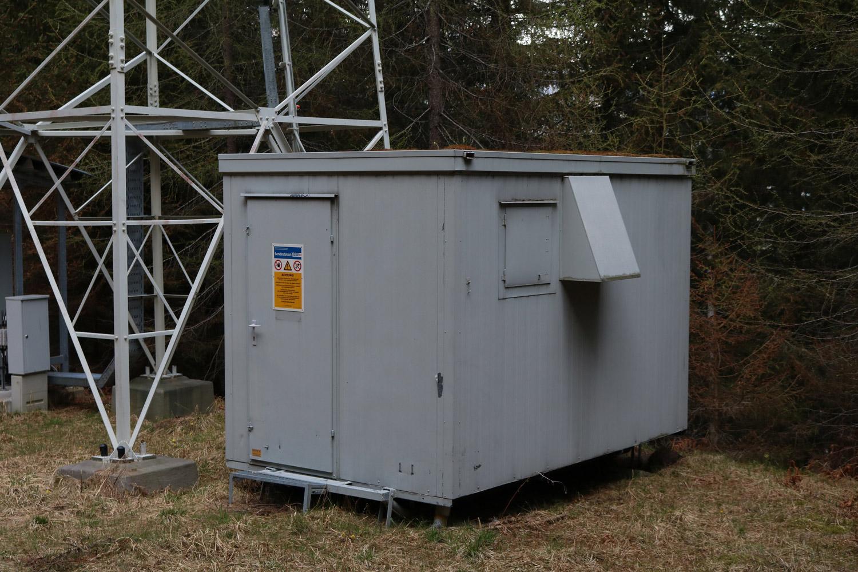 DVB-T Sender Bad Kleinkirchheim am Bacherberg - Container