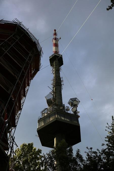 Sender Wien Kahlenberg Antennen