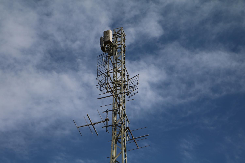 Radiosender Verditz bei Treffen - Antennen 3