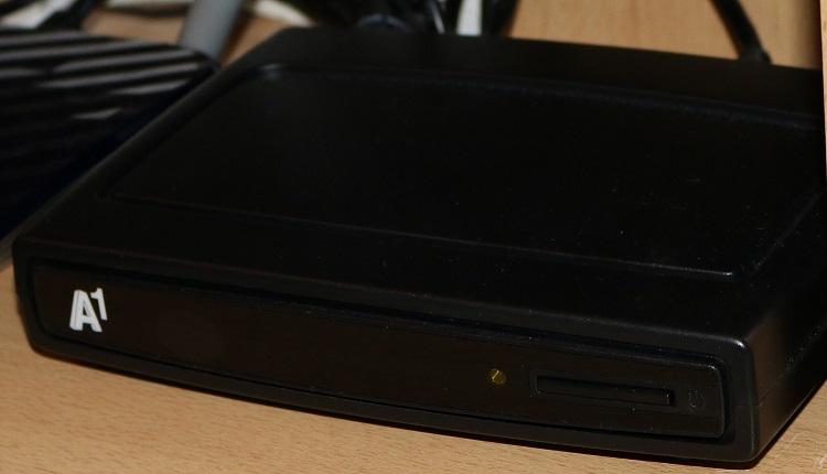 A1 TV über zweiten Router