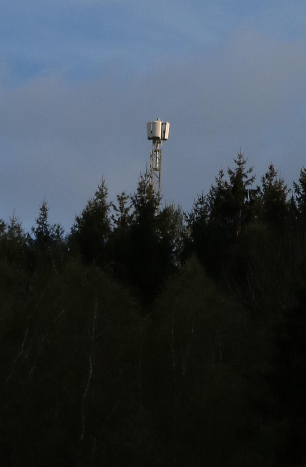 DVB-T Sender Liebenfels - Antennen