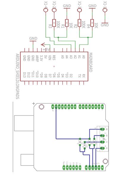 Arduino Netzwerk Voltmeter