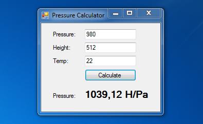 Reduzierter Luftdruck - Barometrische Höhenformel
