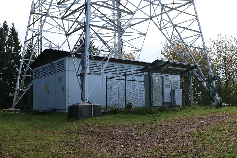 DVB-T und Radio Sender Brückel Lippekogel - Sendehaus