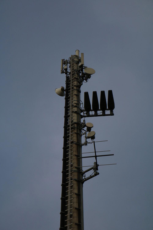 DVB-T und Radio Sender St. Veit Bahnhof - Mast