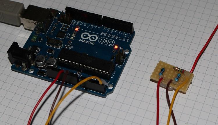 Arduino Blitz Detektor selbstbau