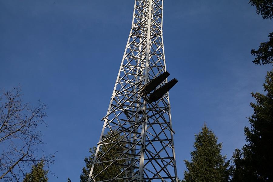 DVB-T2 Sender Arriach in Kärnten - Antennen