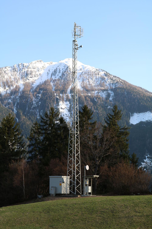 Analog-TV Sender Fragant im Mölltal