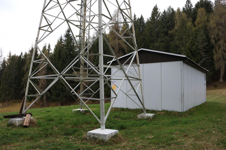 DVB-T2 Sender Kanitzerhöhe bei Feldkirchen in Kärnten - Sendehaus