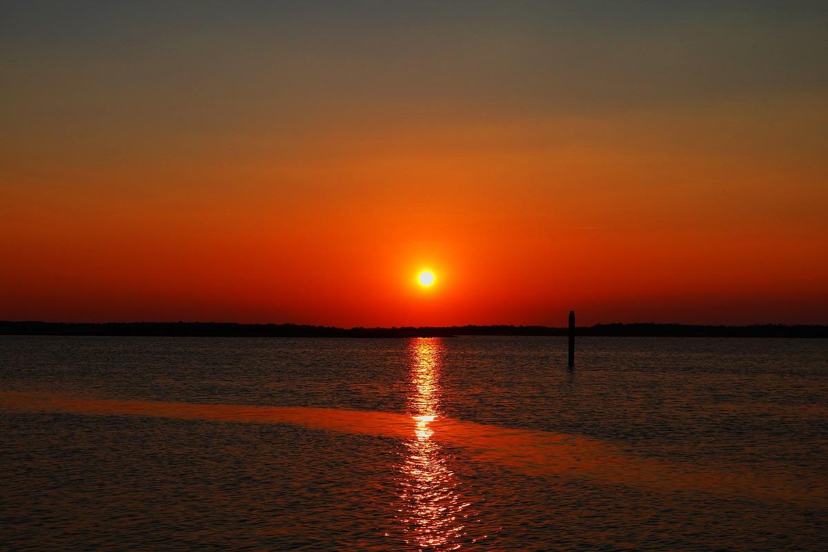 Sonnenuntergang richtig Fotografieren - Meer
