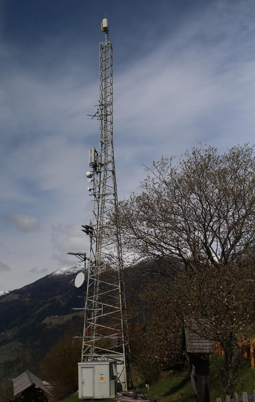 Sender Pfaffenberg Obervellach - Mast