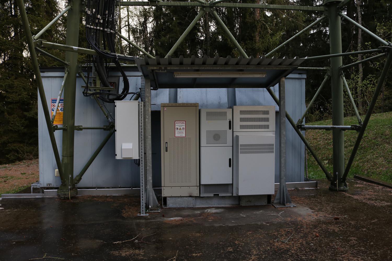 DVB-T und Radiosender Wachsenberg bei Feldkirchen - BTS