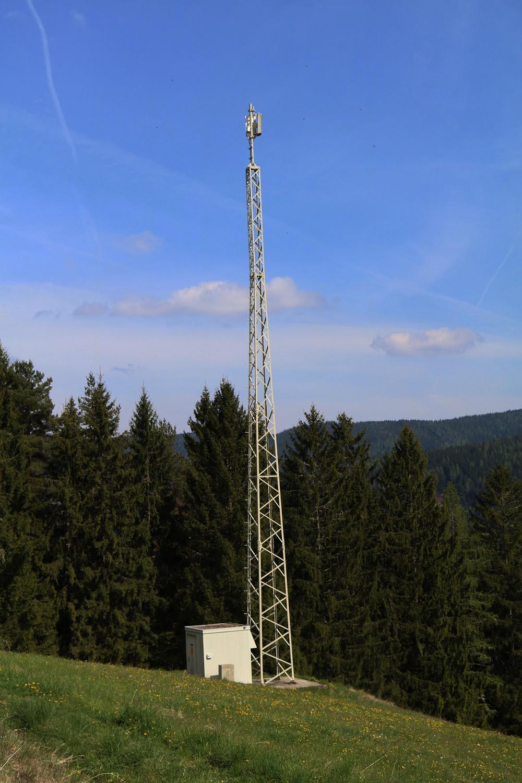 DVB-T Umsetzer Sirnitz - Deutsch Griffen - Mast