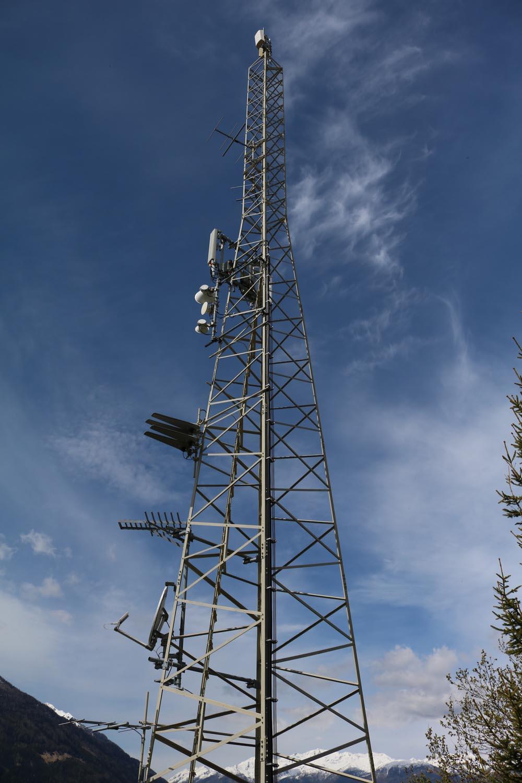 Sender Pfaffenberg Obervellach - Antennen