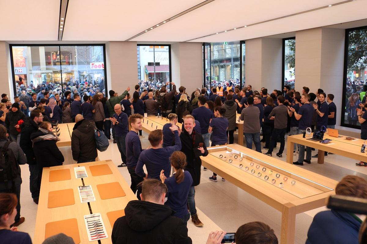 Apple Store Eröffnung in Wien - Store