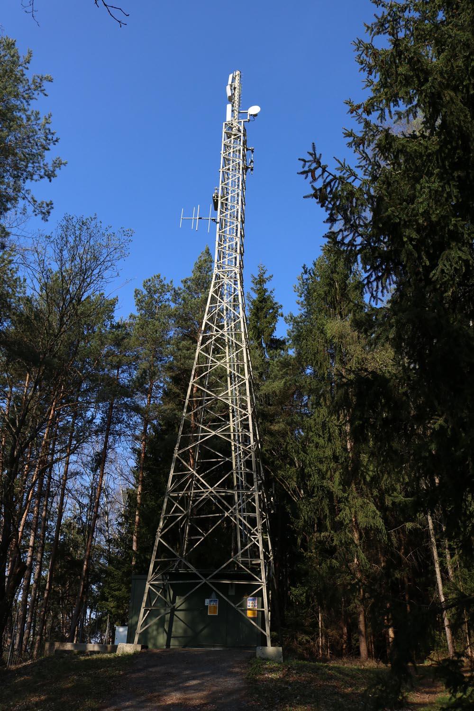 DVB-T Sender Pritschitz Wörthersee - Mast