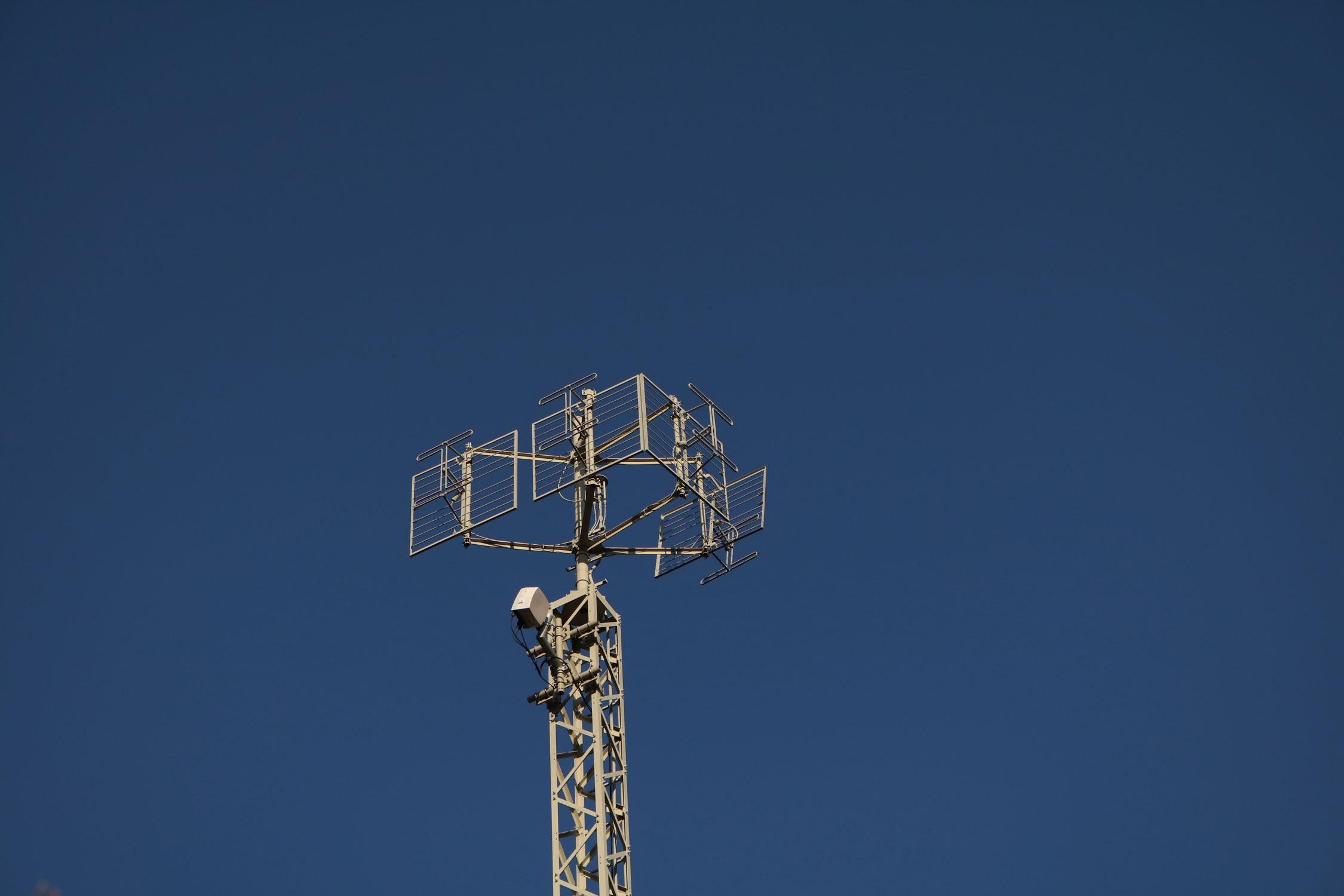 Analog-TV Sender Fragant im Mölltal - VHF Antennen
