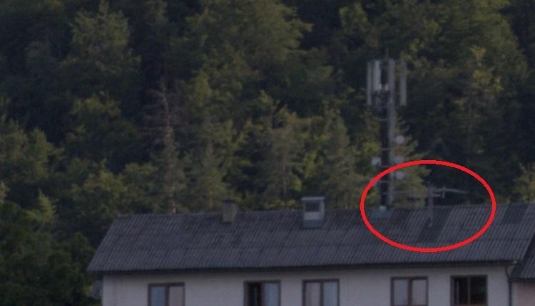 Sender Genottehöhe Antennen