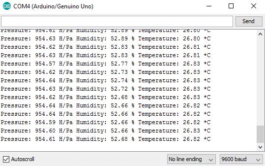 BME230 Serial Monitor