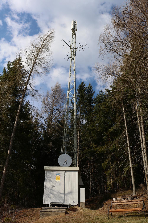 Sender Gmünd 1 in Kärnten - Schlossbichel - DVBT und Radio