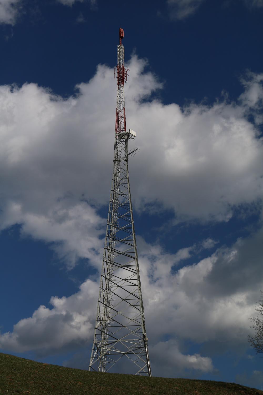 DVB-T und Radio Sender Radenthein - Mast
