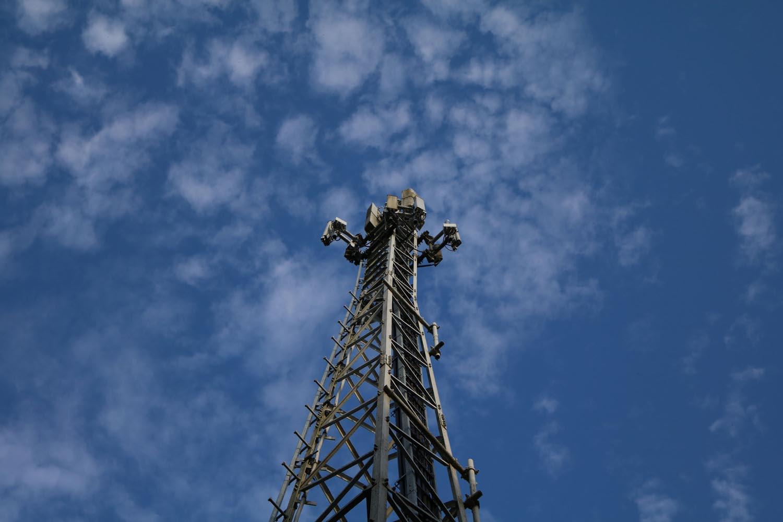 Analog-TV Sender Moosburg - Mast