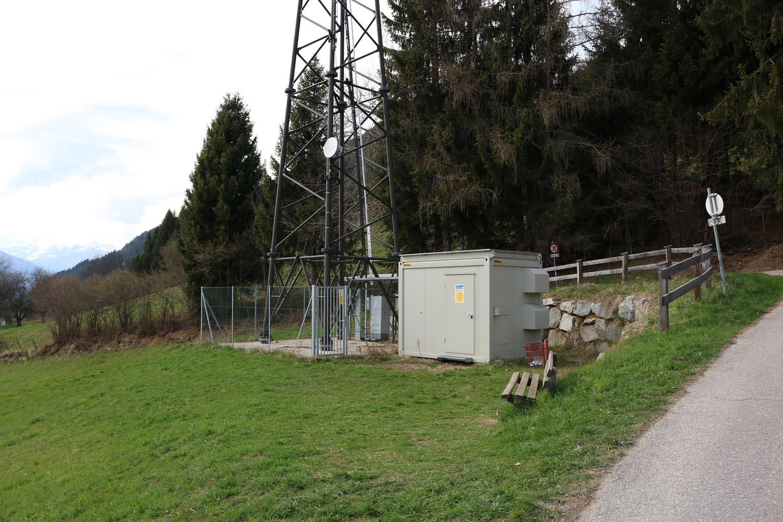 Sender Hühnersberg bei Spittal an der Drau - vorne