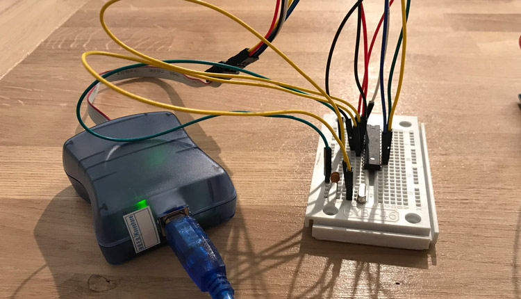 ATMega328 Bootloader Flash - AVRISP mk2 Programmer