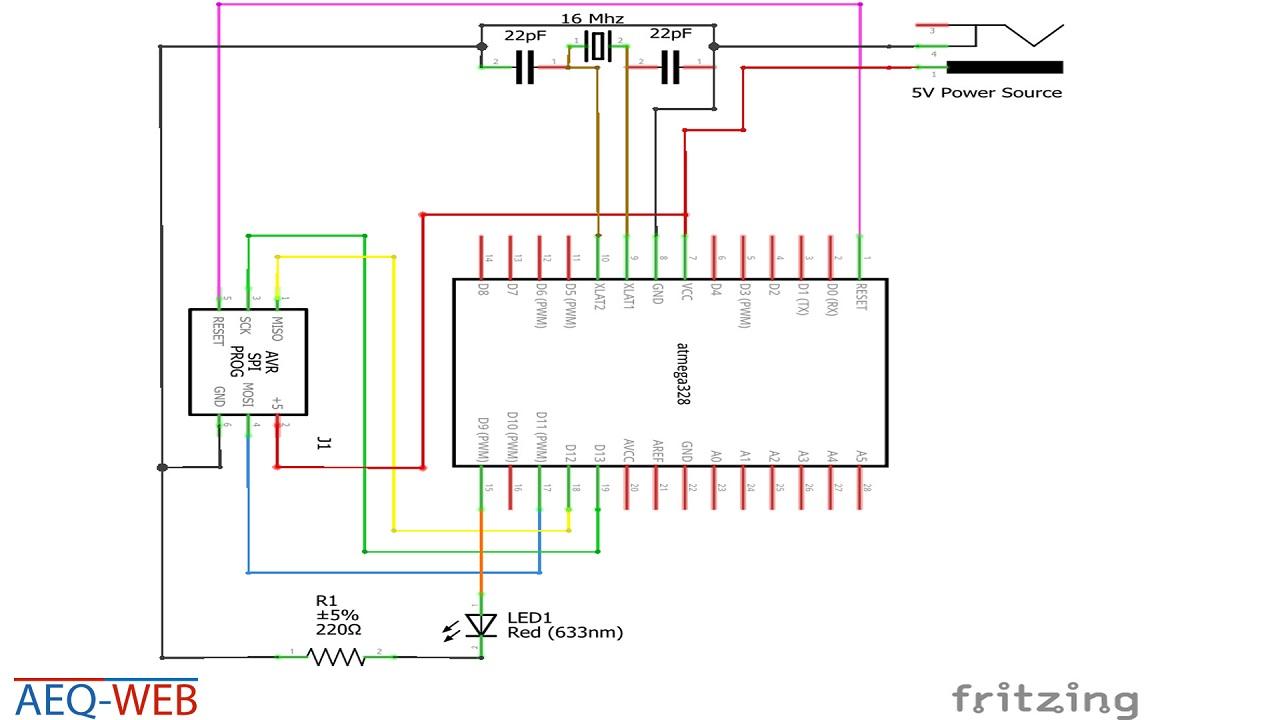 ATMega328 LED PWM Fading Control in C