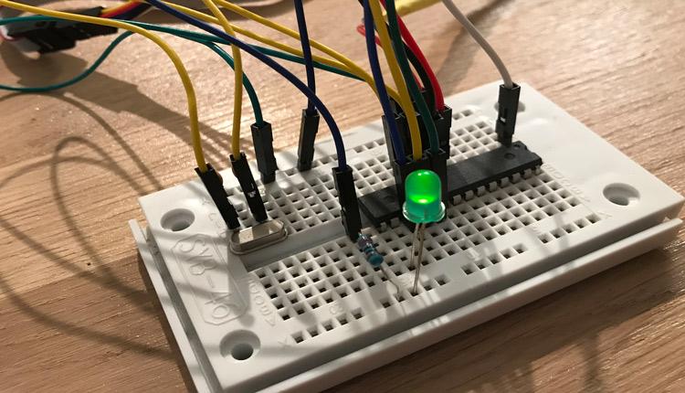ATMega328 Amtel Studio LED PWM Fade