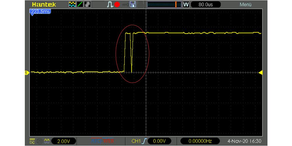 Arduino Messfehler Anemometer