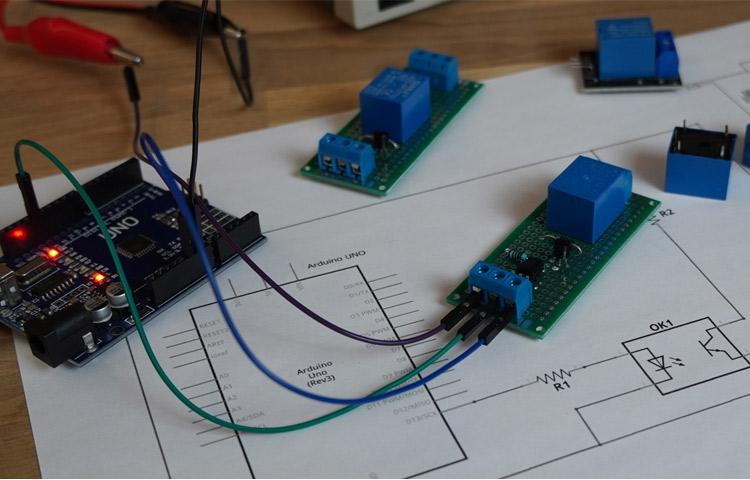 Arduino Relay Control 5V 12V