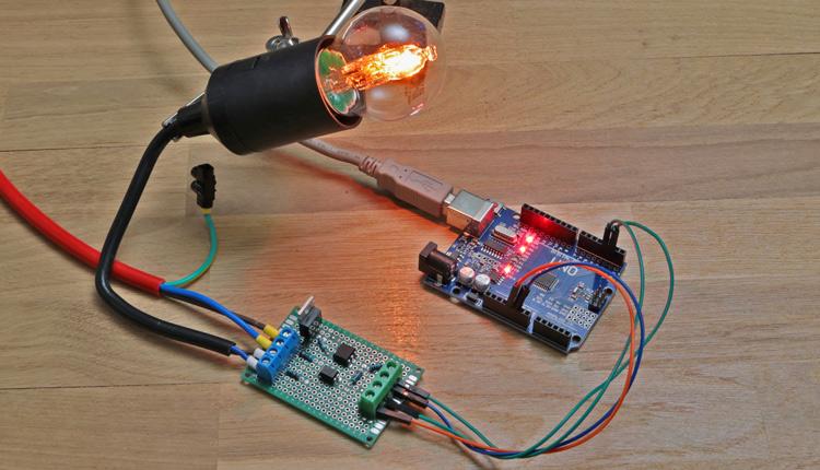 Arduino AC Dimmer
