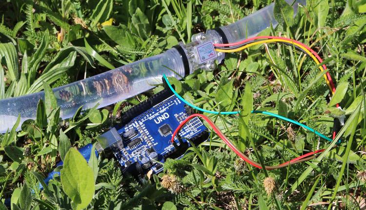 Arduino Flowmeter Wasseruhr