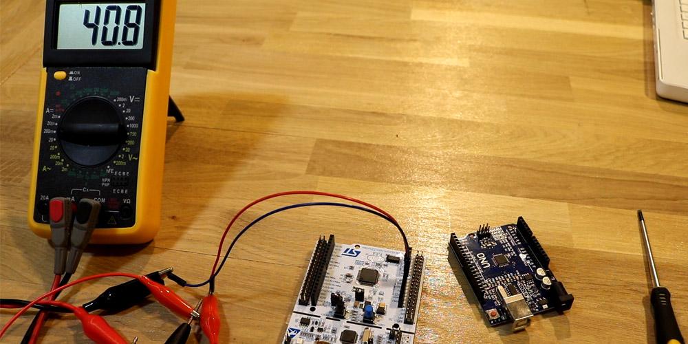 STM Nucleo Arduino Energie Consumption