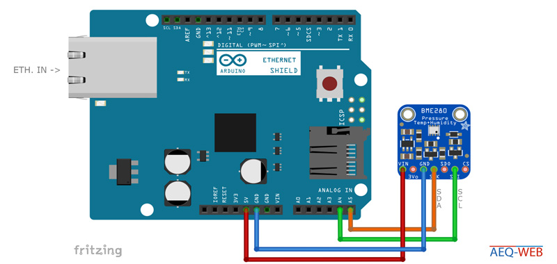 Arduino Temperature & Humidity Station for Smart Home