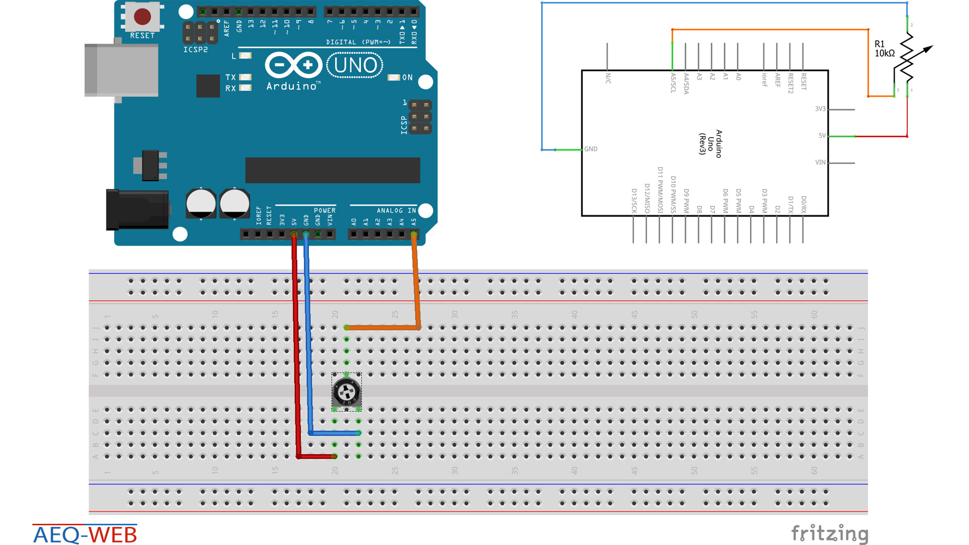 Wring Shematics Arduino Seriel Connection to Visual Basic - Schaltlan
