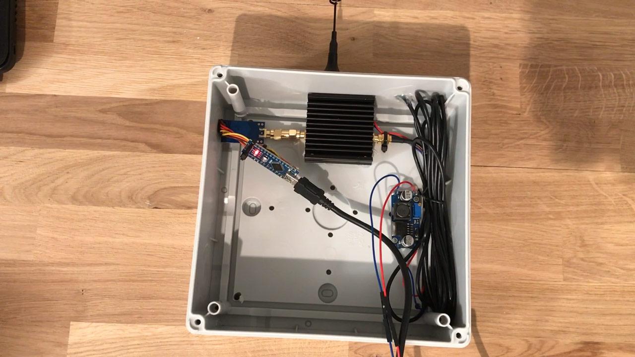 Arduino CC1101 Range Test - Outdoor Box
