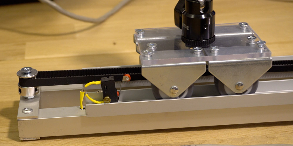 Camera Slider Init Position Switch