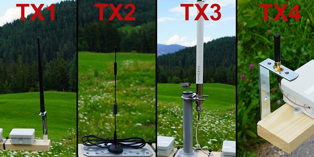 Die besten LoRa Antennen für 868 Mhz TX